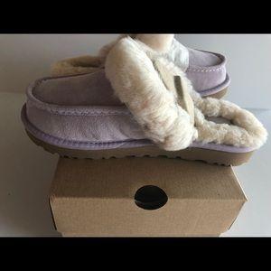 edab7c54fbf UGG Beachwood Lavender Moccasin slippers ***RARE NWT